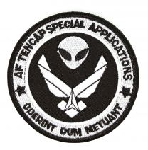 Parche Bordado U.S Air Force AF Tencap Special Applications 8cm