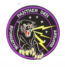 Parche Bordado U.S Air Force Panther Den 8cm