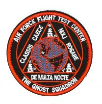 Parche Bordado U.S Air Force The Ghost Squadron 8cm
