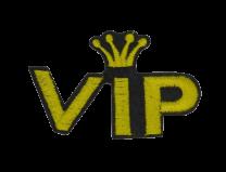 Parche Termoadhesivo VIP. 6,5x4cm
