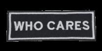 Parche Termoadhesivo Who Cares 10,5x3,5 cm