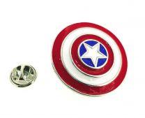 Pin Broche de 3,5 cm Escudo Capitan America