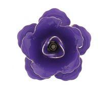 Pin Broche de Solapa Flor Morada