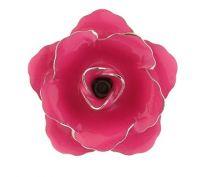 Pin Broche de Solapa Flor Rosa