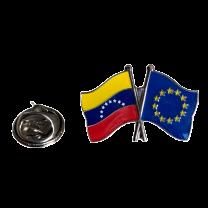 Pin de solapa Amistad Union Europea Venezuela