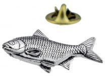 Pin de Solapa Bacalao Plateado