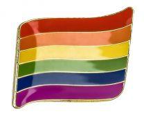 Pin de Solapa Bandera Actual del Orgullo 2 LGTBI