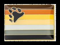 Pin de Solapa Bandera Bear Brotherhood LGTBI