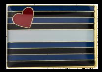 Pin de Solapa Bandera Leather LGTBI