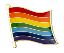 Pin de Solapa Bandera del Arcoiris LGTBI