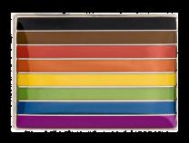 Pin de Solapa Bandera del Orgullo LGTBI Para Minorías Raciales