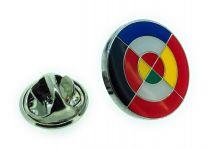 Pin de Solapa Bandera Escarapela Eurofighter