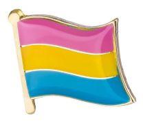 Pin de Solapa Bandera Orgullo Pansexual LGTBI