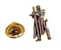 Pin de Solapa Caballero Templario