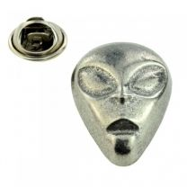 Pin de Solapa Cabeza Alien 25x17mm