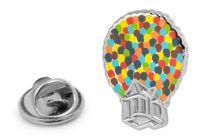 Pin de solapa Casa con globos UP 20mm