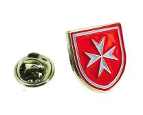 Pin de Solapa de la Orden de los Caballeros Hospitalarios de San Juan de Jerusalem
