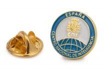 Pin de Solapa del Centro Nacional de Información CNI 15 mm
