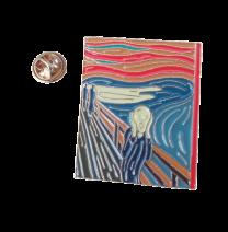 Pin de Solapa El Grito Edvard Munch 3,5x2,5cm