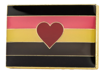 Pin de Solapa Fat Fetish Flag LGTBI