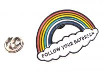 Pin de Solapa Arco Iris Follow Your Day Dream 40x25mm