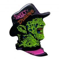 Pin de solapa Freddy Krueger Sweet Dreams 42x32mm