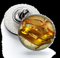Pin de Solapa Magglass Ilustraciones Rosa de los Vientos Nº11 16mm