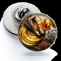 Pin de Solapa Magglass Ilustraciones Rosa de los Vientos Nº15 16mm