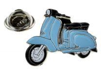 Pin de Solapa Lambretta Azul Cyan
