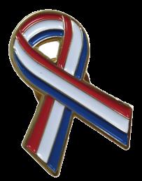 Pin de Solapa Lazo Bandera Holanda Flag Ribbon Holland 30x25 mm
