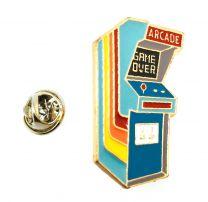 Pin de Solapa Máquina de Videojuegos Arcade 35x25 mm