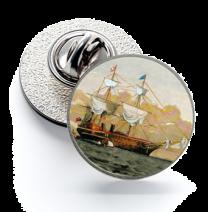Pin de Solapa Magglass Barcos Nº11 16mm