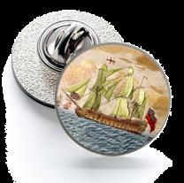 Pin de Solapa Magglass Barcos Nº12 16mm
