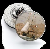 Pin de Solapa Magglass Barcos Nº2 16mm