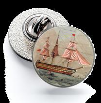 Pin de Solapa Magglass Barcos Nº3 16mm