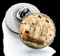 Pin de Solapa Magglass Barcos Nº4 16mm