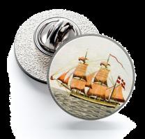 Pin de Solapa Magglass Barcos Nº5 16mm