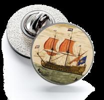 Pin de Solapa Magglass Barcos Nº6 16mm