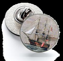 Pin de Solapa Magglass Barcos Nº7 16mm