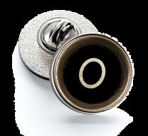 Pin de Solapa Magglass Botón de Maquina de Escribir Letra Letter O 16mm