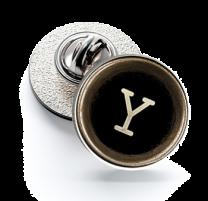 Pin de Solapa Magglass Botón de Maquina de Escribir Letra Letter Y 16mm