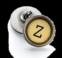 Pin de Solapa Magglass Boton de Maquina de Escribir Letra Letter Z Mod 2 16mm
