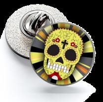 Pin de Solapa Magglass Calavera Catrina Nº15 16mm