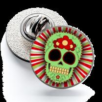 Pin de Solapa Magglass Calavera Catrina Nº16 16mm