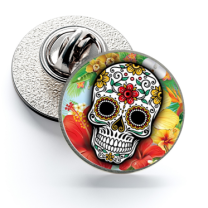 Pin de Solapa Magglass Calavera Catrina Nº17 16mm
