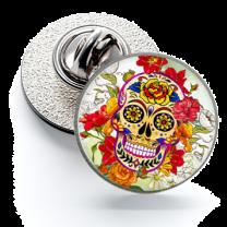 Pin de Solapa Magglass Calavera Catrina Nº22 16mm