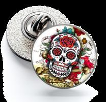 Pin de Solapa Magglass Calavera Catrina Nº23 16mm