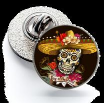 Pin de Solapa Magglass Calavera Catrina Nº24 16mm