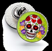 Pin de Solapa Magglass Calavera Catrina Nº2 16mm