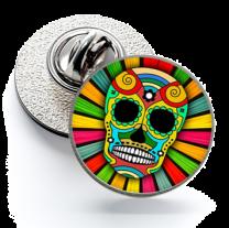 Pin de Solapa Magglass Calavera Catrina Nº9 16mm